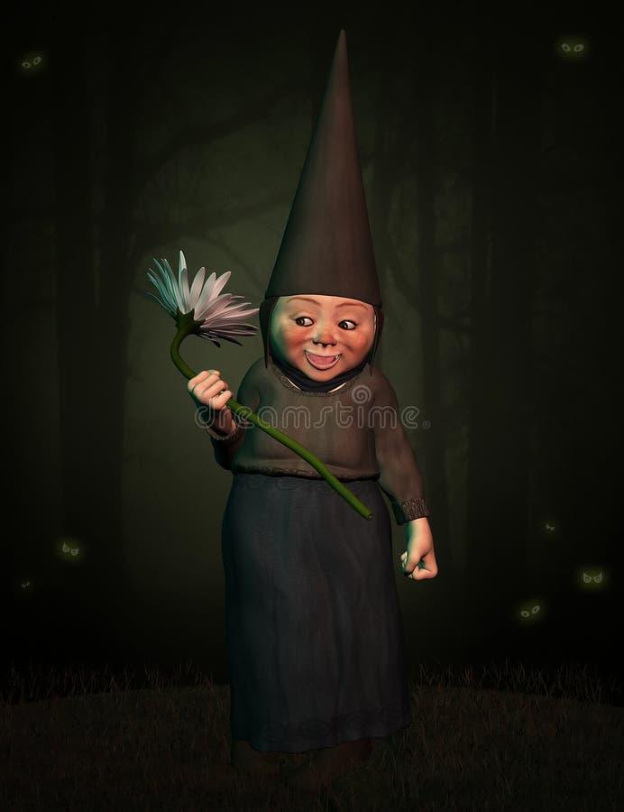 Fantasy dwarf 2 stock photo