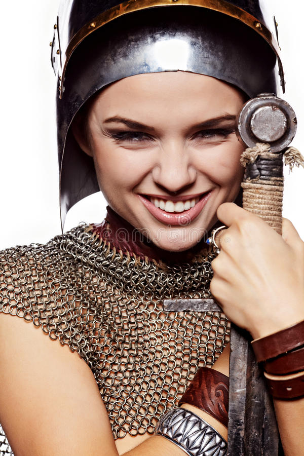 . Fantasy fashion idea. stock photos