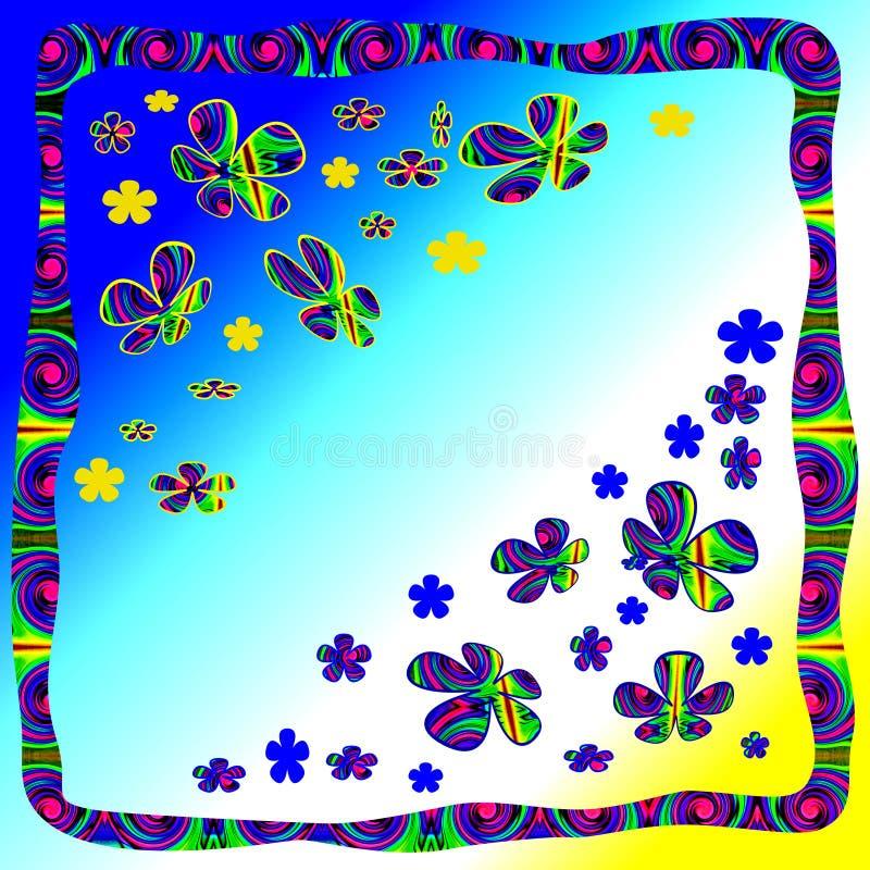 Download Fantasy Flowers stock illustration. Illustration of colorful - 5681887