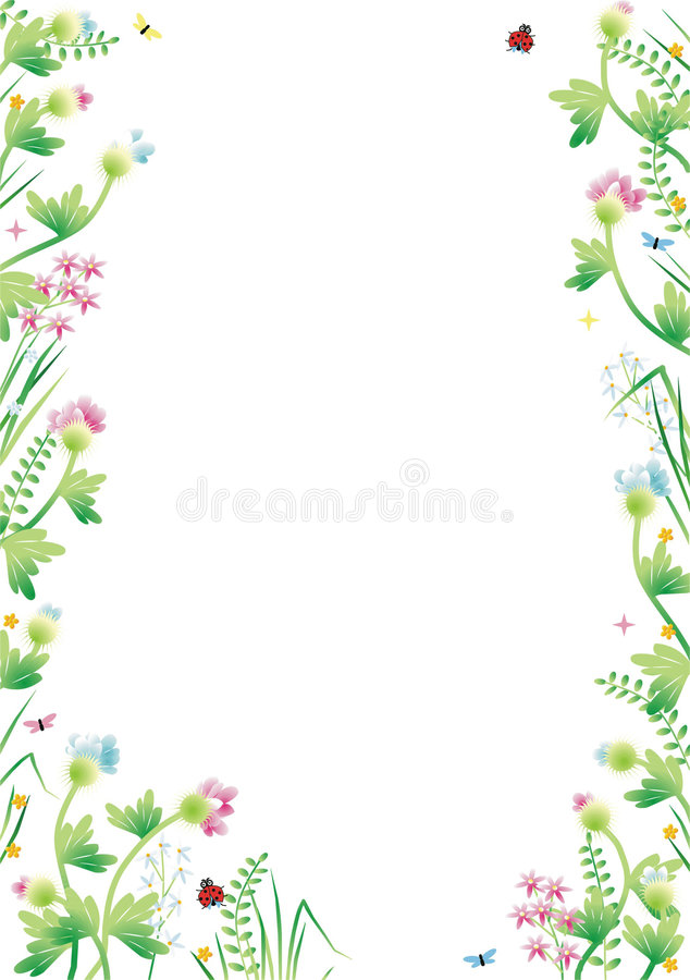 Download Fantasy Garden Background 3 Stock Vector