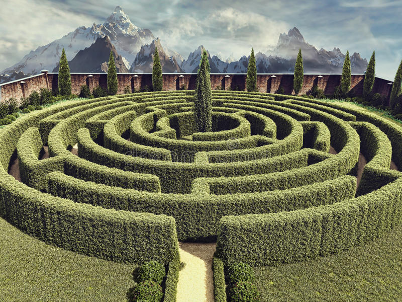 Fantasy garden maze stock illustration. Illustration of illustration on rectangular prayer labyrinth designs, new mexico garden designs, meditation garden designs, 6 path labyrinth designs, school garden designs, spiral designs, finger labyrinth designs, heart labyrinth designs, knockout rose garden designs, informal herb garden designs, walking labyrinth designs, simple garden designs, stage garden designs, water garden designs, indoor labyrinth designs, shade garden designs, greenhouse garden designs, christian prayer labyrinth designs, dog park designs, labyrinth backyard designs,