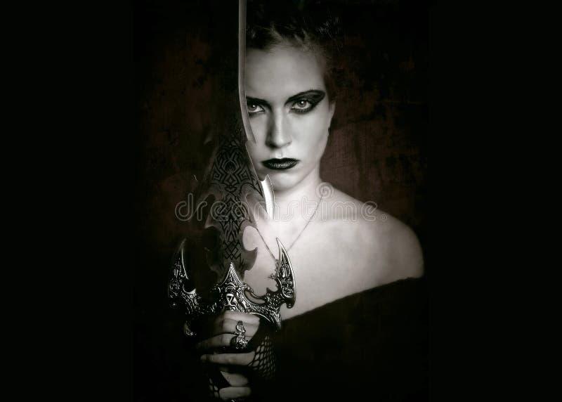 Fantasy gothic art royalty free stock images