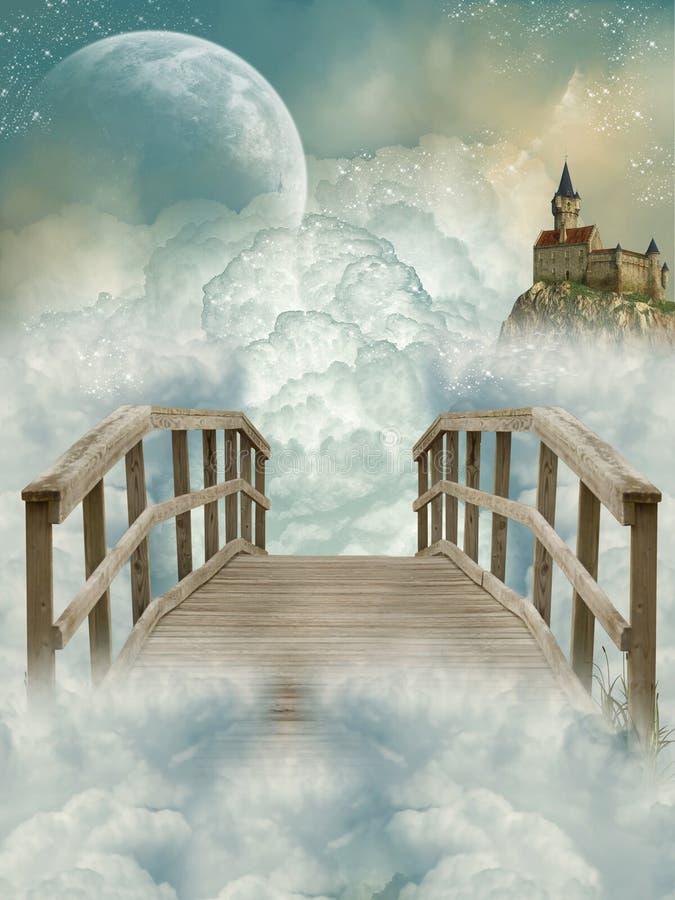 Fantasy Landscape stock illustration