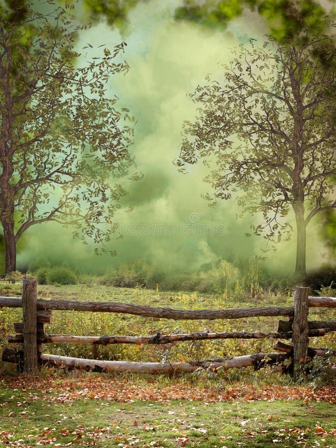Free Fantasy Landscape Royalty Free Stock Photography - 21727987