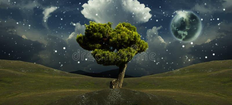 Download Fantasy Landscape stock illustration. Image of dream - 26925735