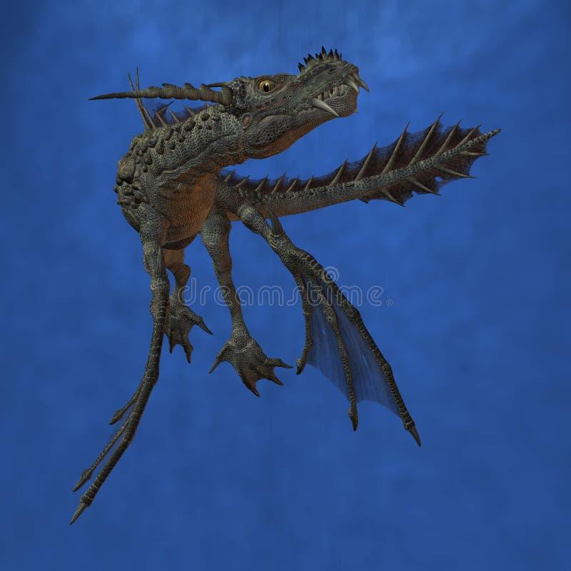 Fantasy Monster. 3D Render of an Fantasy Monster vector illustration
