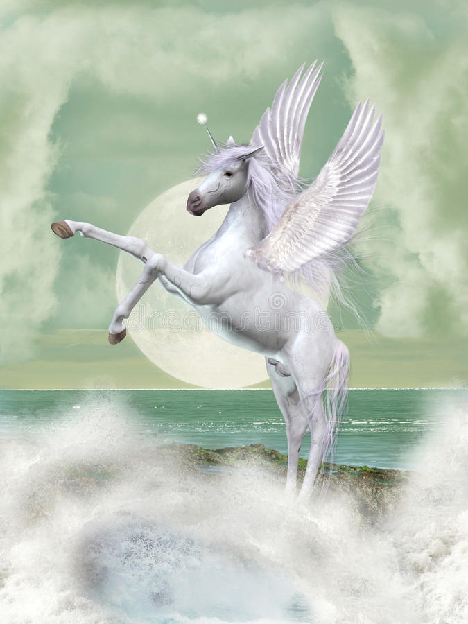 Free Fantasy Pegasus Royalty Free Stock Images - 17412939