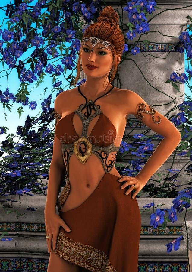 Fantasy Queen I royalty free stock photo