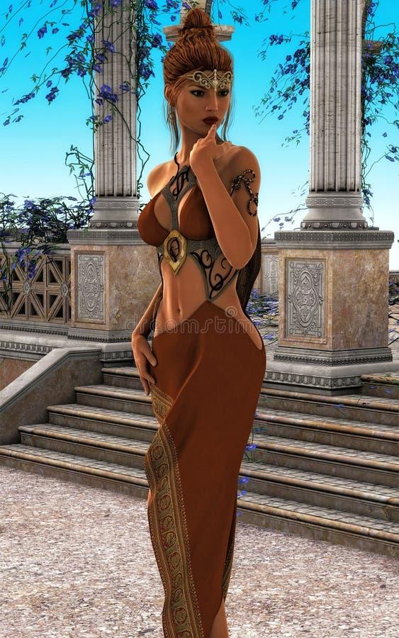 Fantasy Queen III stock photography