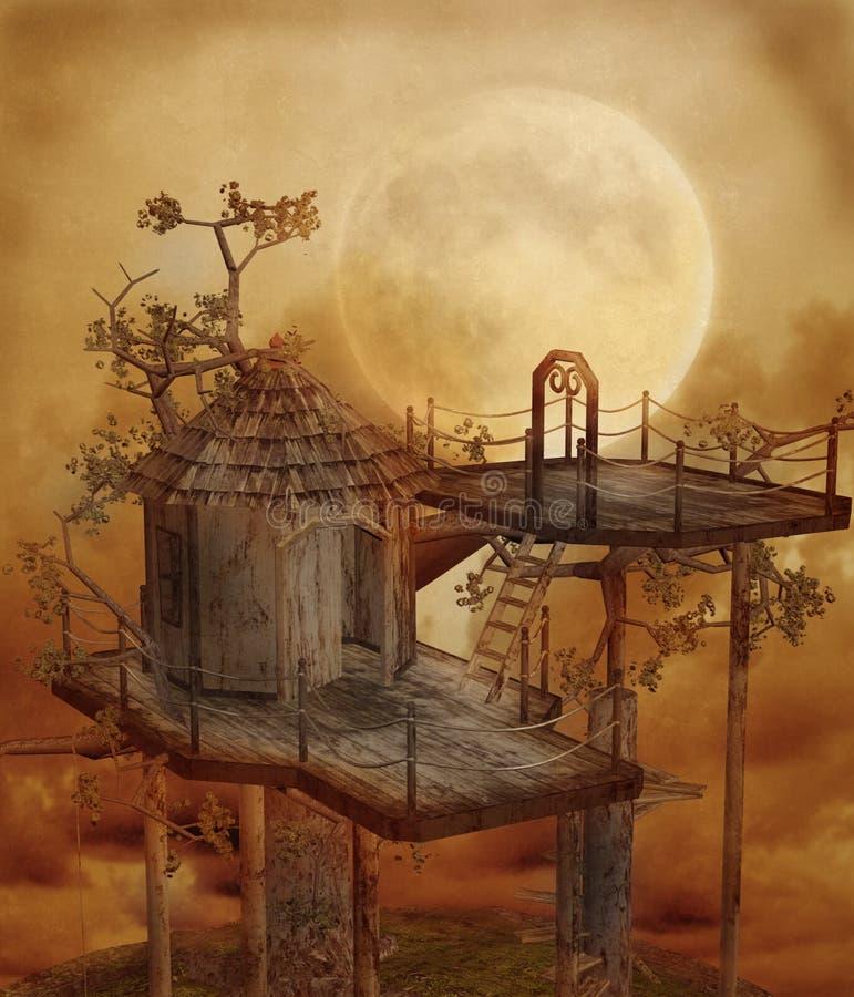 Fantasy scenery 110 royalty free illustration