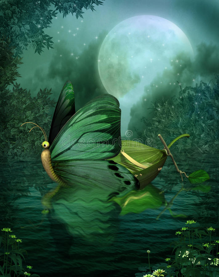 Fantasy scenery 128. Fantasy background for personal or commercial use
