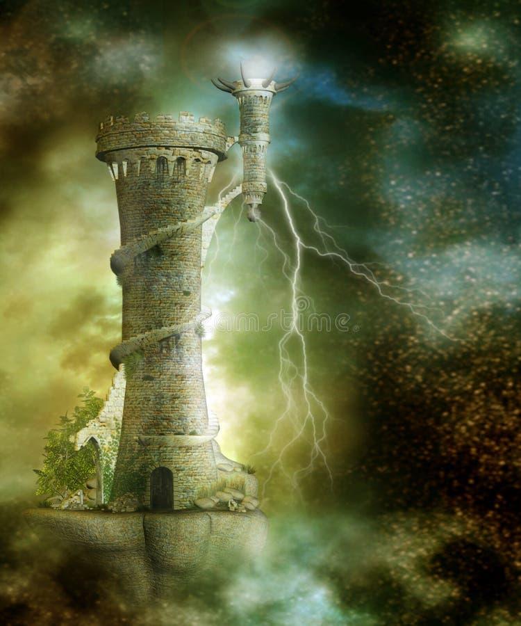 Fantasy scenery 26 royalty free illustration