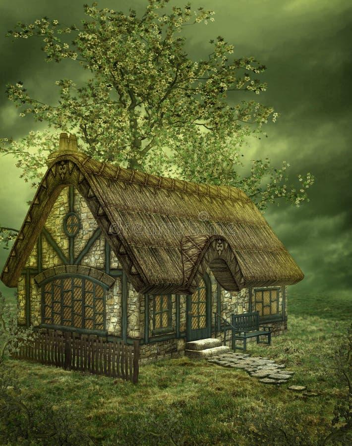 Download Fantasy scenery 36 stock illustration. Image of tree, fantasy - 9371827