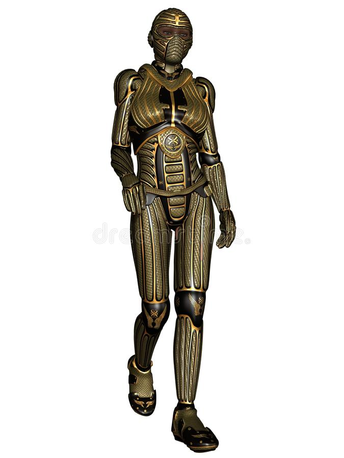 Fantasy Science Fiction Armour Stock Images