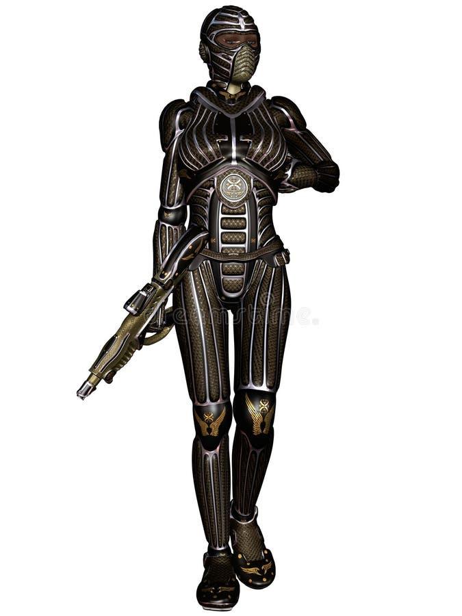 Fantasy Science Fiction Armour Stock Photo