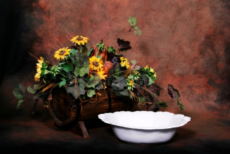 Fantasy Studio Set (Insert Isolated Client). Fantasy Studio Set Sunflower and Wash Basin stock photo