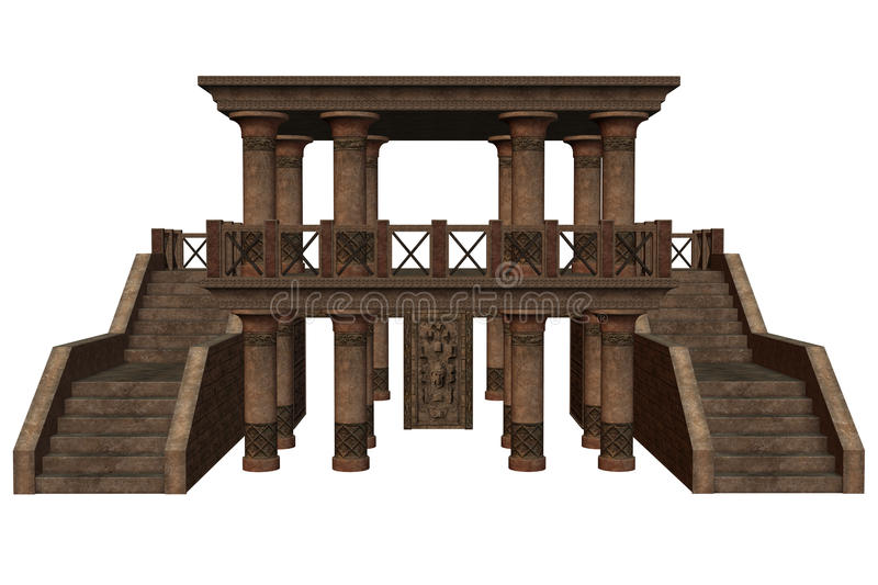 Fantasy Temple Royalty Free Stock Images