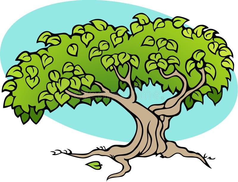 Fantasy tree stock photos