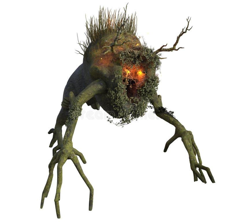 Download Fantasy tree ent stock illustration. Image of render - 82608305