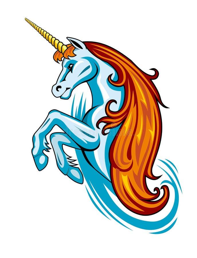 Download Fantasy unicorn stock vector. Illustration of mane, icon - 21096762