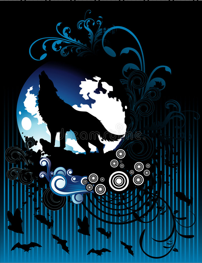 Fantasy vector composition stock illustration