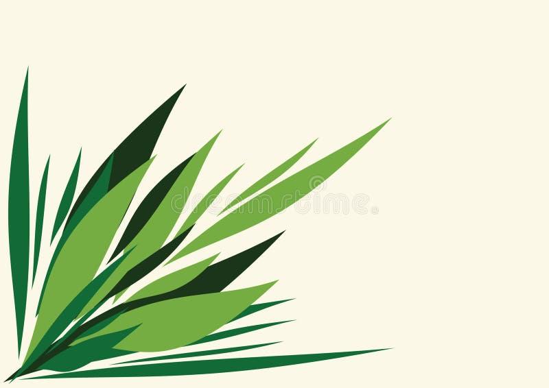 Fantasy vector flower background stock illustration