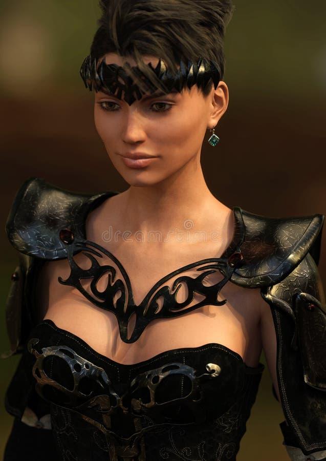 Fantasy Warrior Female royalty free stock photo