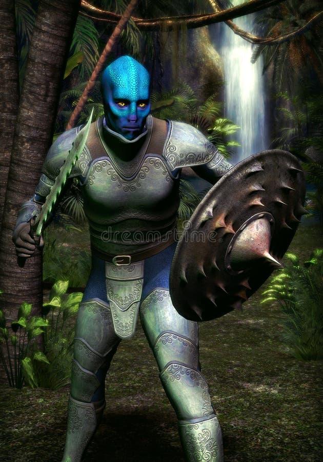 Fantasy warrior monster