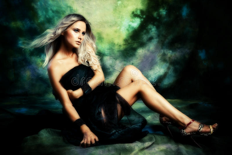 Download Fantasy woman stock photo. Image of fashion, attractive - 15946092