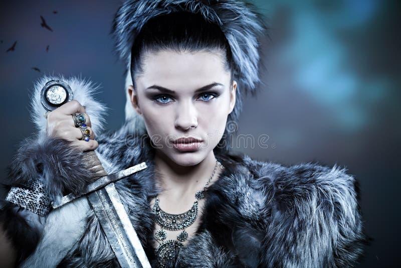Fantasy woman stock photos