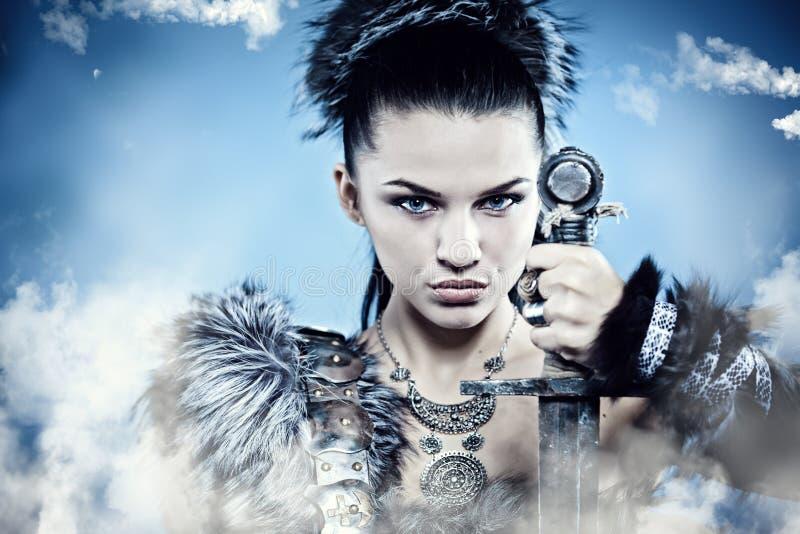 Fantasy woman royalty free stock photography