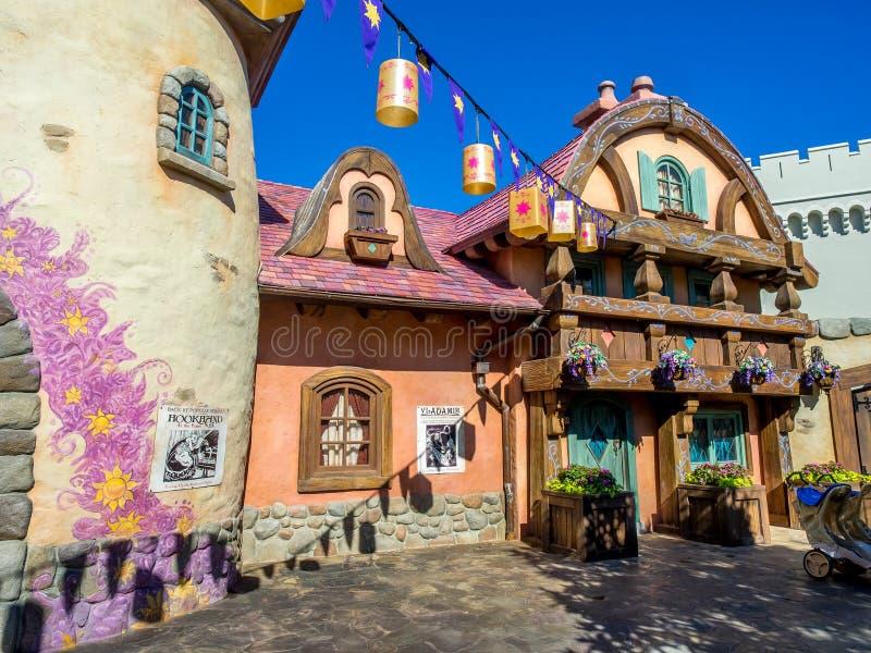 Fantasyland, Disney-Welt lizenzfreie stockbilder