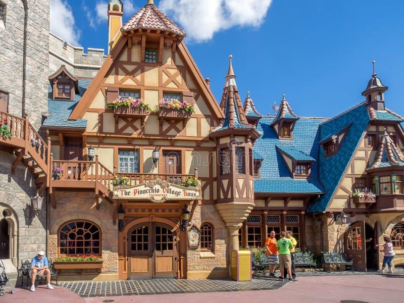 Fantasyland, mundo de Disney foto de stock
