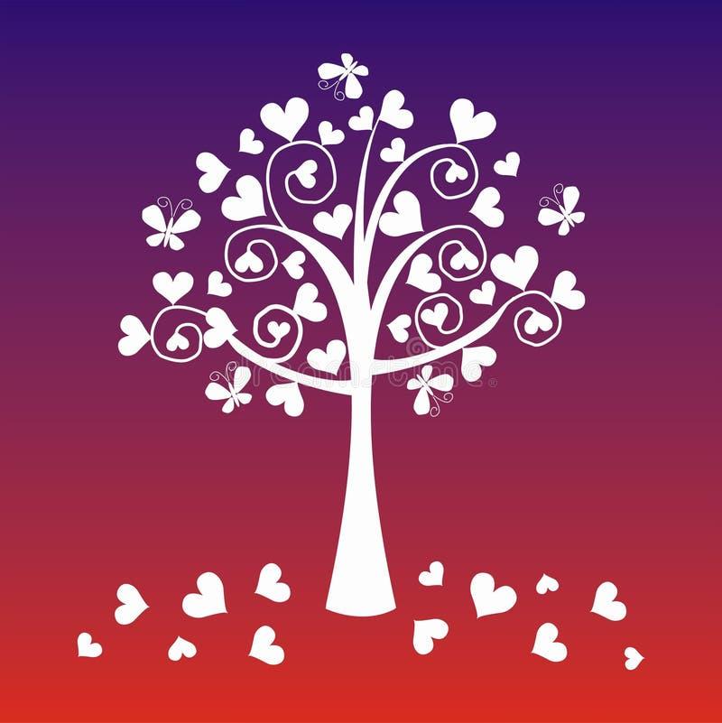 fantazi drzewo royalty ilustracja