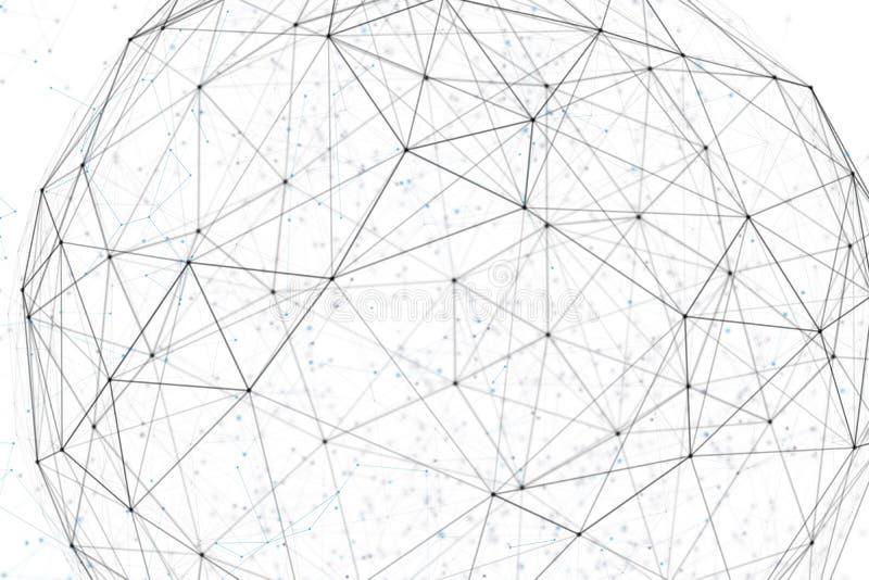 Fantazi inżynierii i technologii abstrakcjonistyczny tło zdjęcie royalty free