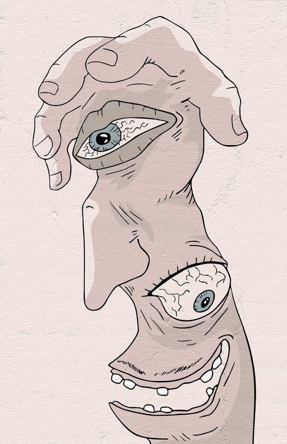 Fantazi istota ilustracji