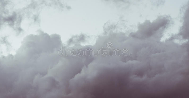 Fantazj chmury fotografia stock
