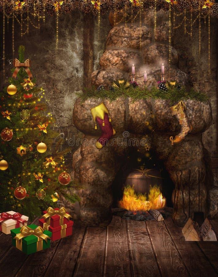 fantazja (1) czarodziejski pokój ilustracji