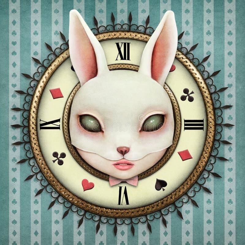 Fantazja Kieszeniowy zegarek ilustracja wektor