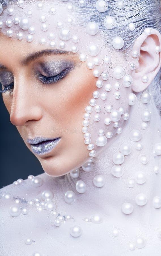 Fantazja makijaż zdjęcia stock