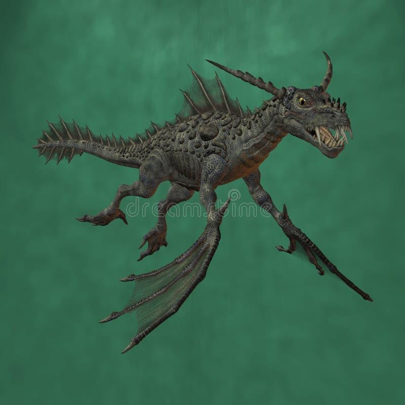 fantazja potwór royalty ilustracja
