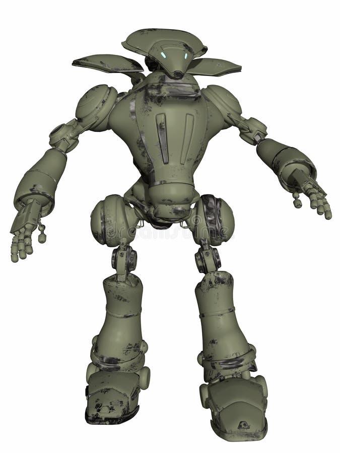 fantazja robot royalty ilustracja