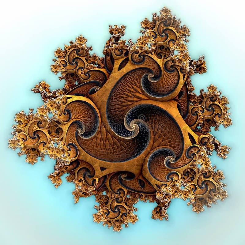 Fantazja sen kwiat Art_6 royalty ilustracja