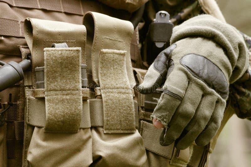 Fante di marina munito degli Stati Uniti immagine stock libera da diritti