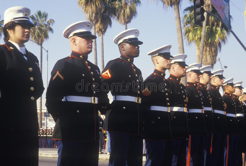 Fanti di marina degli Stati Uniti fotografia stock