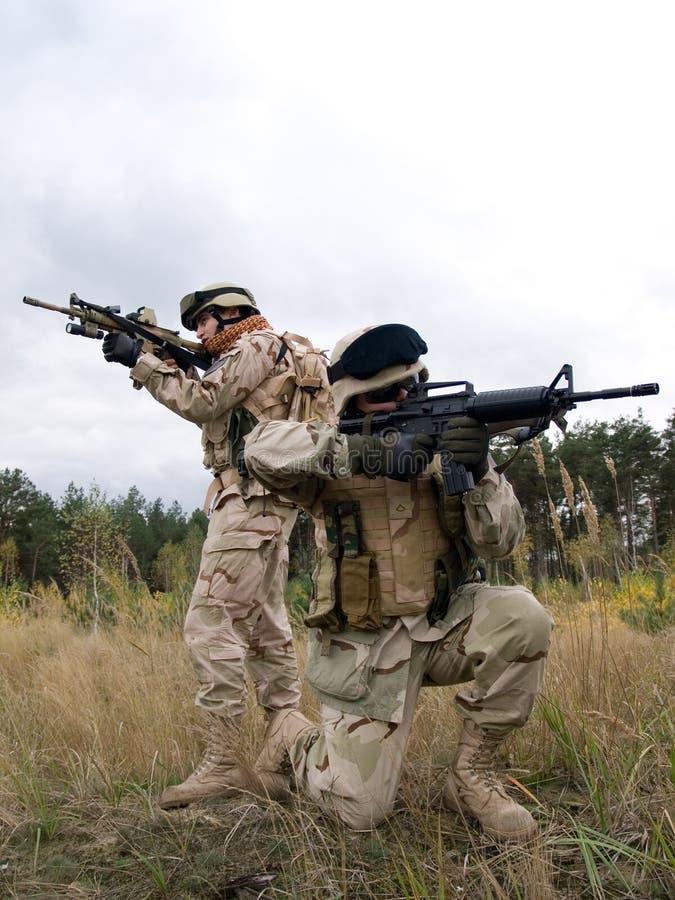 Fanti di marina degli Stati Uniti immagine stock