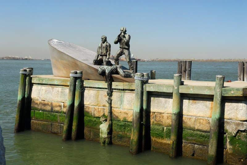 Fanti di marina mercantili americani commemorativi fotografia stock libera da diritti