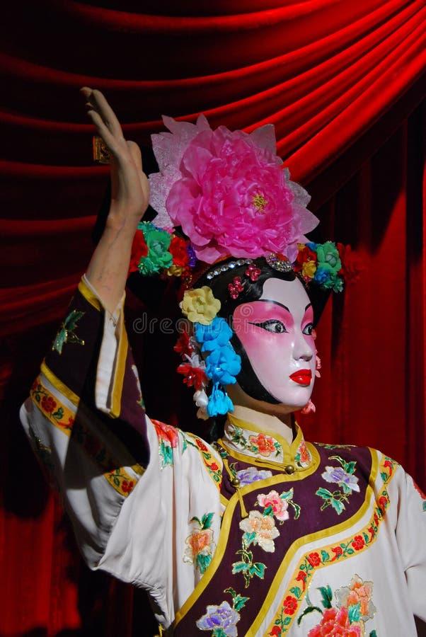 Fantoche da ópera de Peking foto de stock royalty free