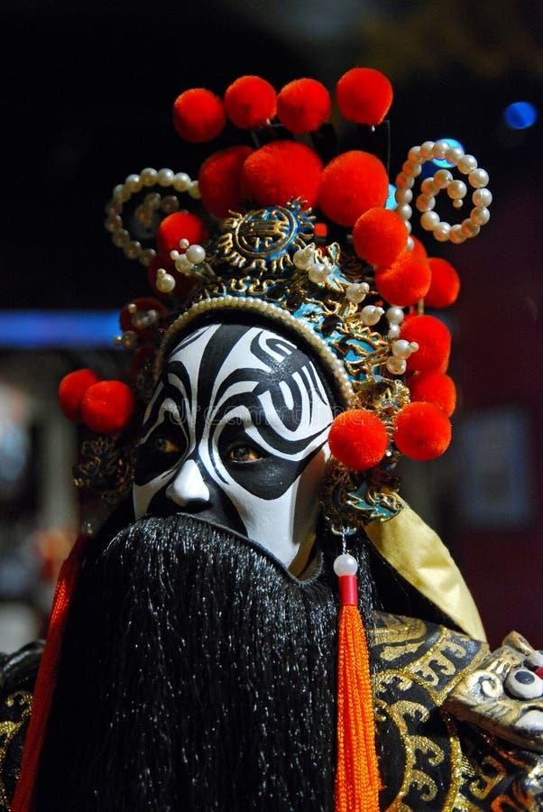 Fantoche da ópera de Peking fotografia de stock