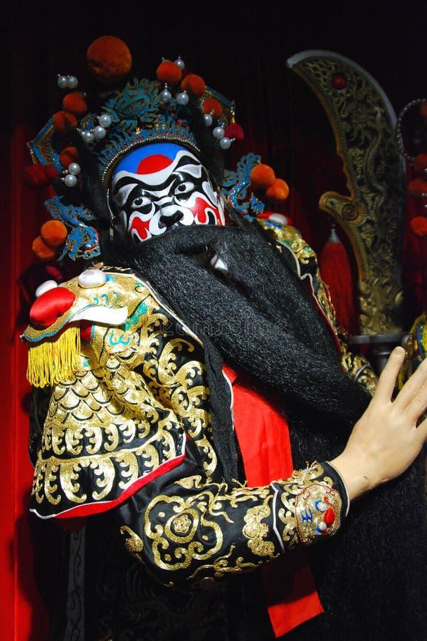Fantoche da ópera de Peking imagens de stock